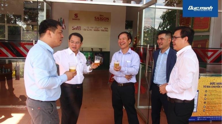 Đức Minh bày tỏ hy vọng được đồng hành, hợp tác cùng nhà máy bia Sài Gòn - Đắk Lắk