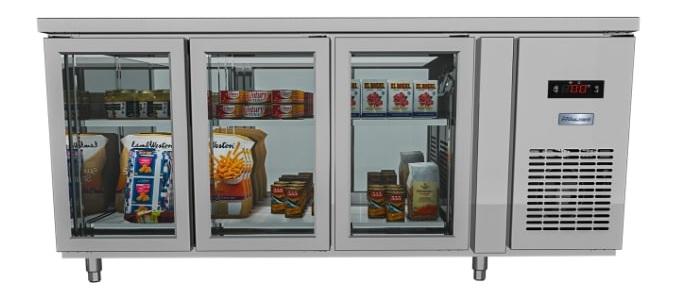 Tầng giá riêng biệt hỗ trợ phân loại, trưng bày sản phẩm
