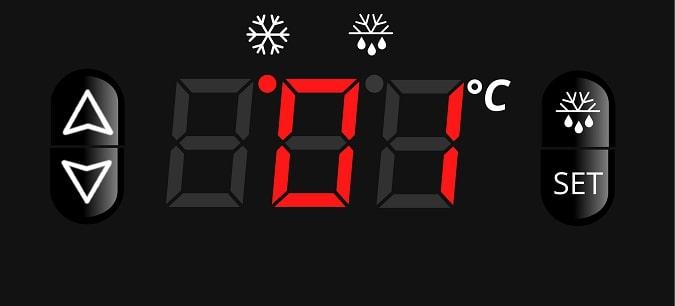 Đồng hồ hiển thị nhiệt chính xác, tức thời