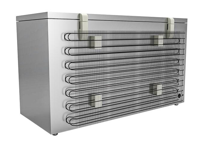 Dàn nóng trực tiếp kép thiết kế dư công suất, tăng hiệu quả tản nhiệt