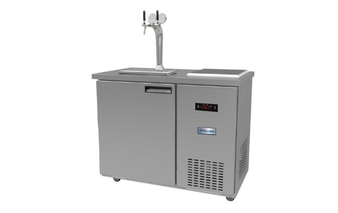 Tủ bia tích hợp lạnh nhanh 4 bom 20L US