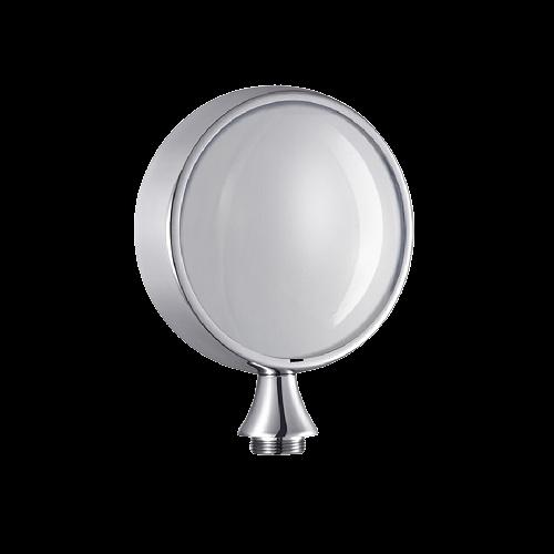 Logo tròn trắng đèn LED Talos