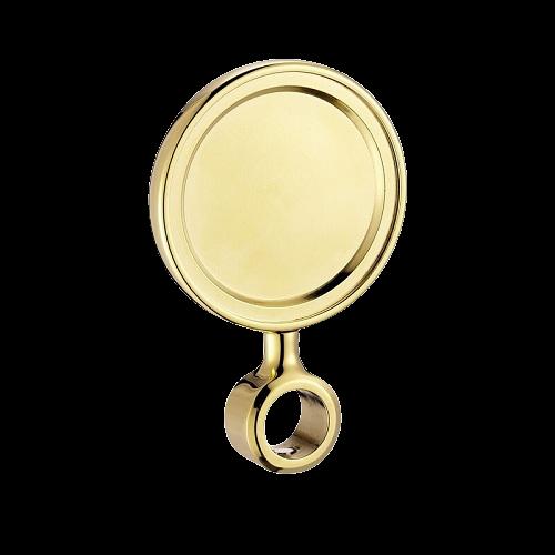 Logo tròn vàng Talos