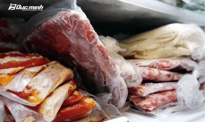 Nhiệt độ là yếu tố quyết định chất lượng thực phẩm đông lạnh